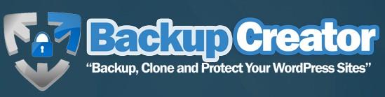 Backup Creator WordPress Plugin