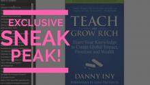 Teach and Grow Rich, Danny Iny