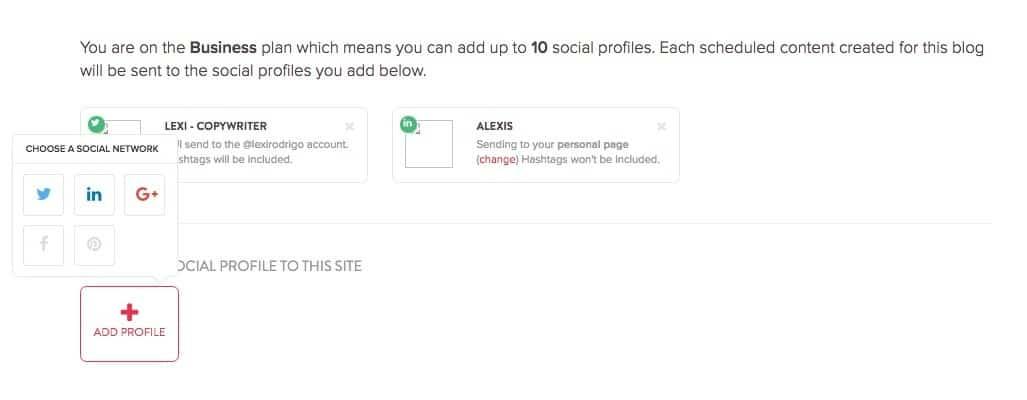 missinglettr social account setup