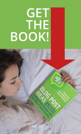 Blog Post Ideas book