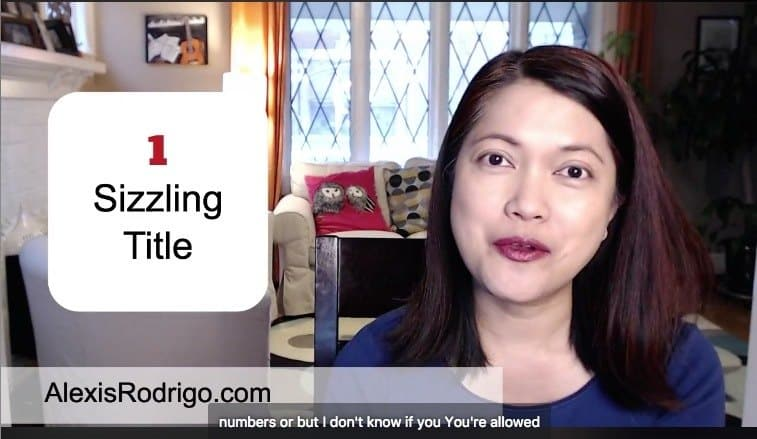 Online Video Tips: Sizzling Title