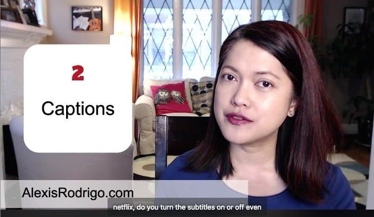 Online Video Tips: Captions
