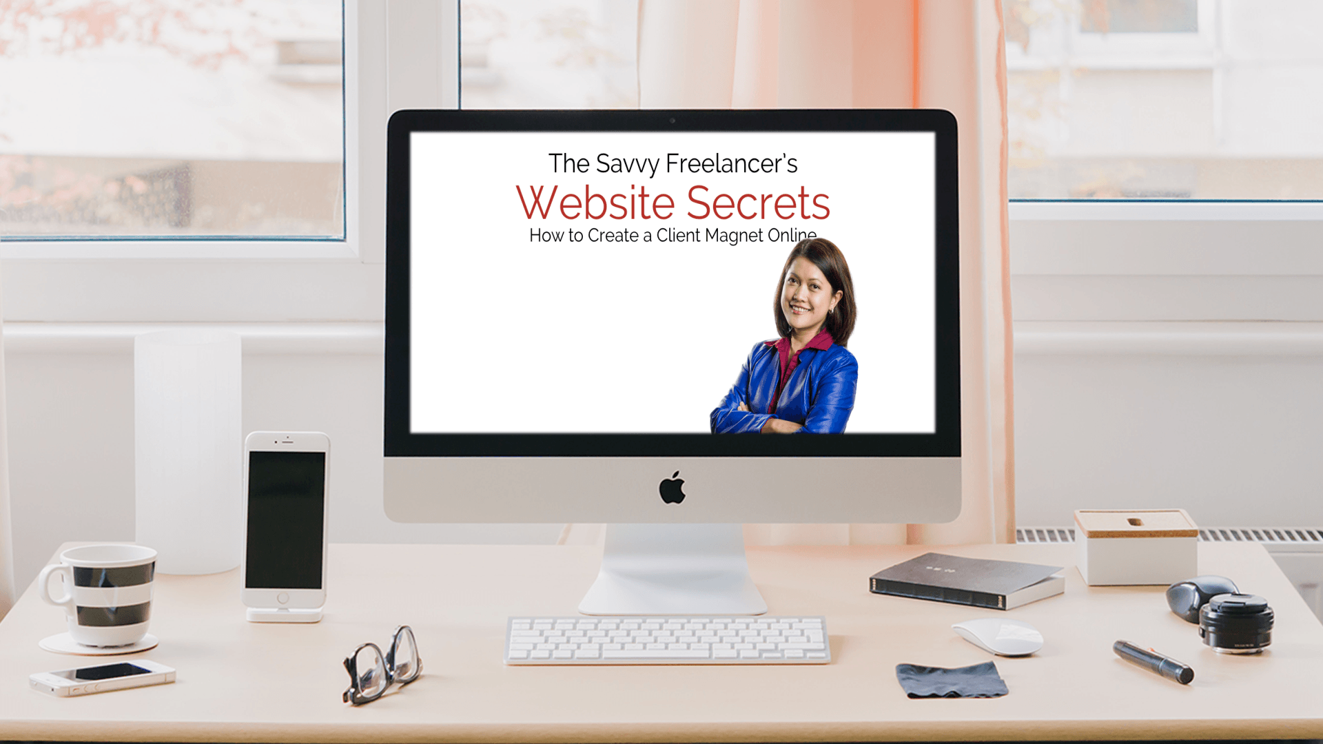 The Savvy Freelancer's Website Secrets