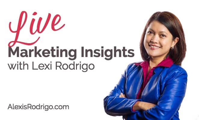 Marketing Insights LIVE with Lexi Rodrigo