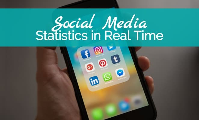 Social Media Statistics in Real Time