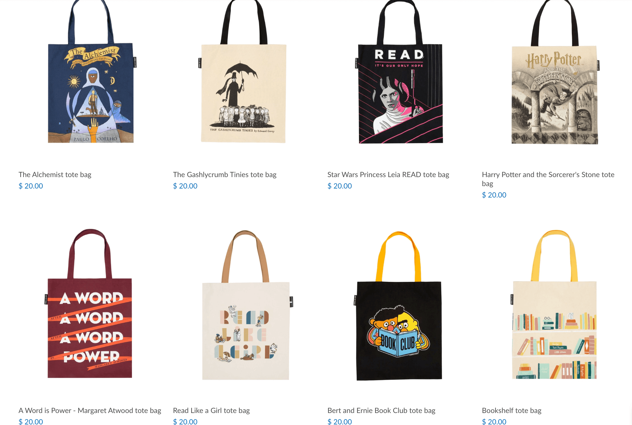 tote bags for book lovers