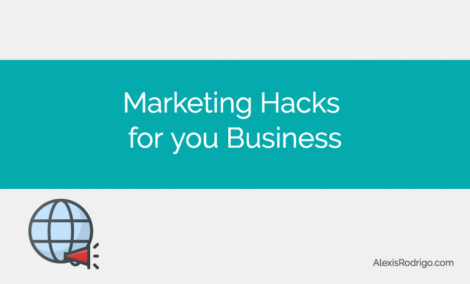 Business marketing hacks