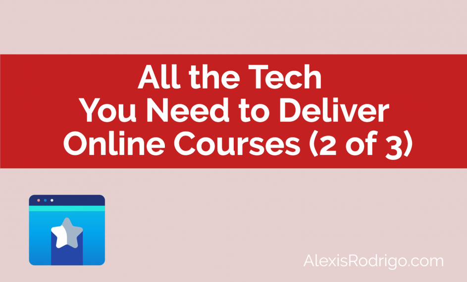 Tech deliver online courses