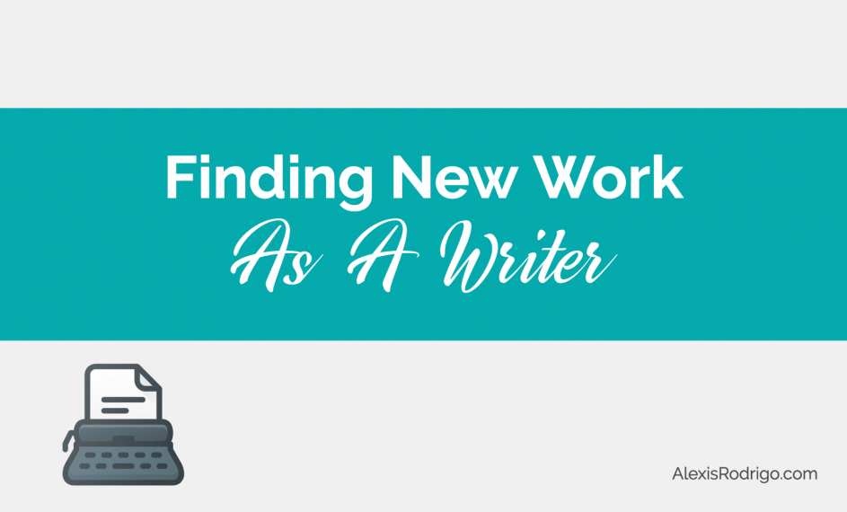 Finding New Work as a Writer