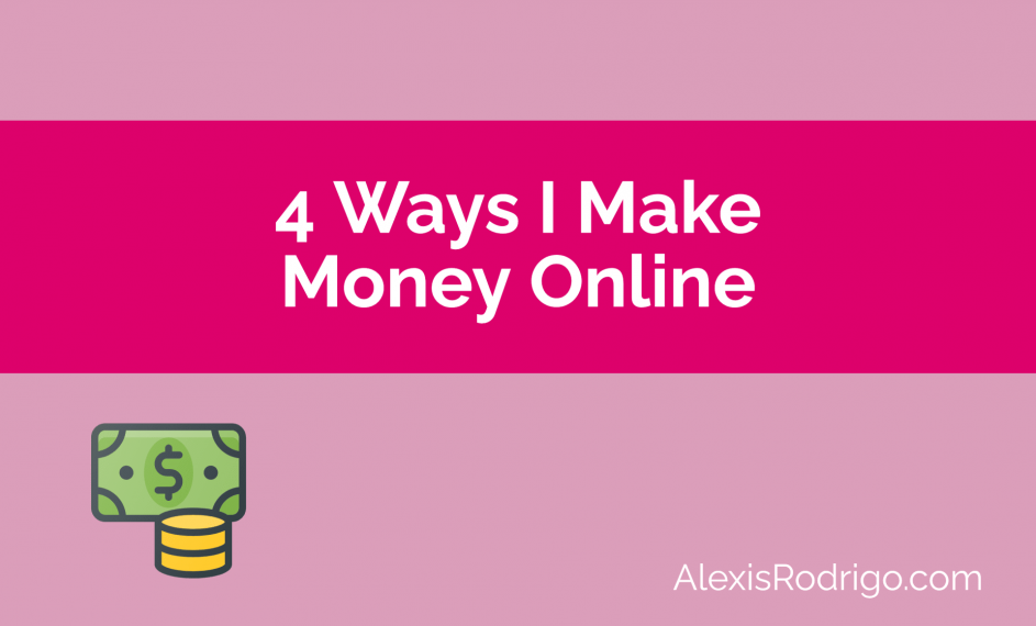 How I make money online