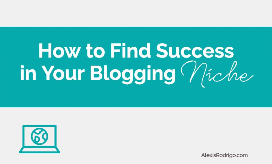 niche blogging success