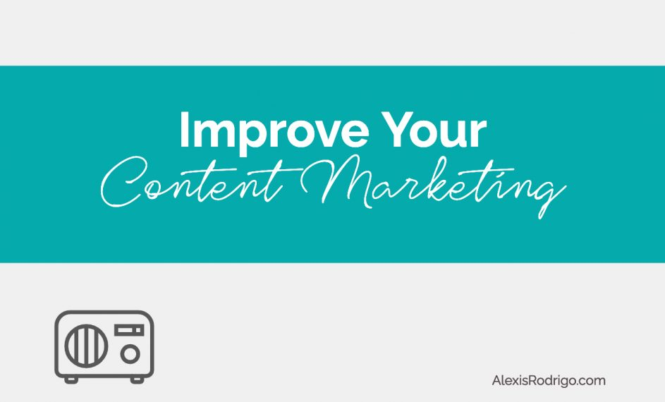 improve content marketing 2021