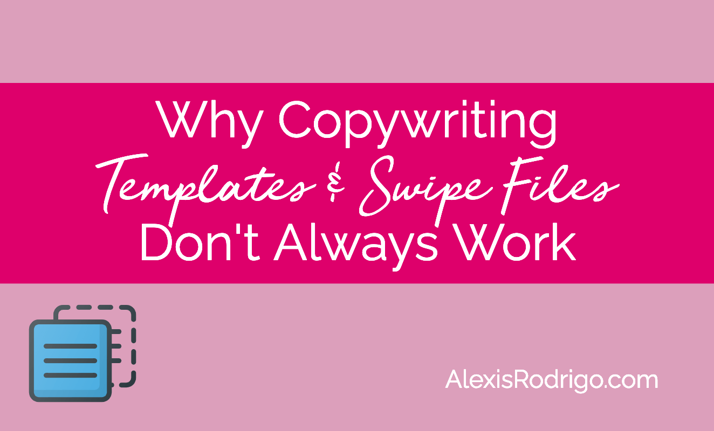 copywriting templates and swipe files
