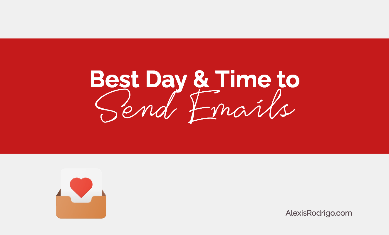 When is the best day and time to send emails